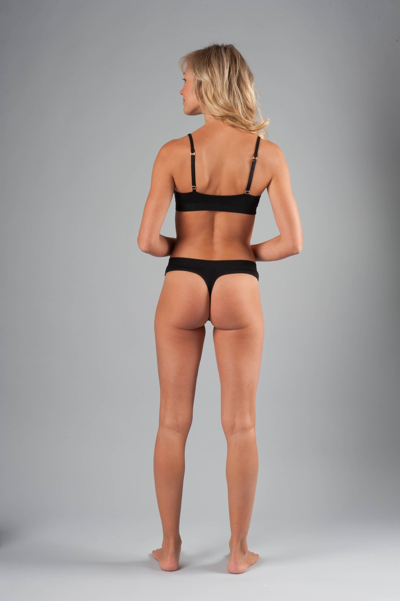 Naked Micromodal Luxury Thong - Knickers & Pearls Boutique - 7
