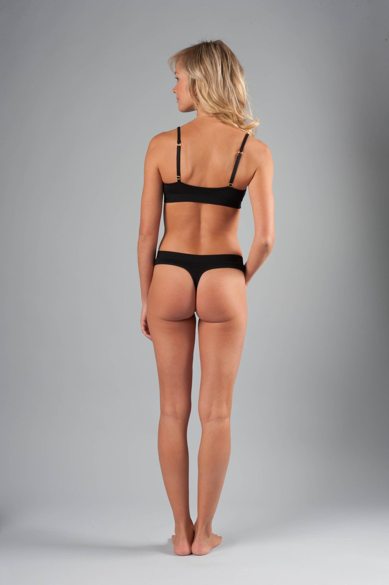 Naked Micromodal Luxury Thong - Knickers & Pearls Boutique - 2