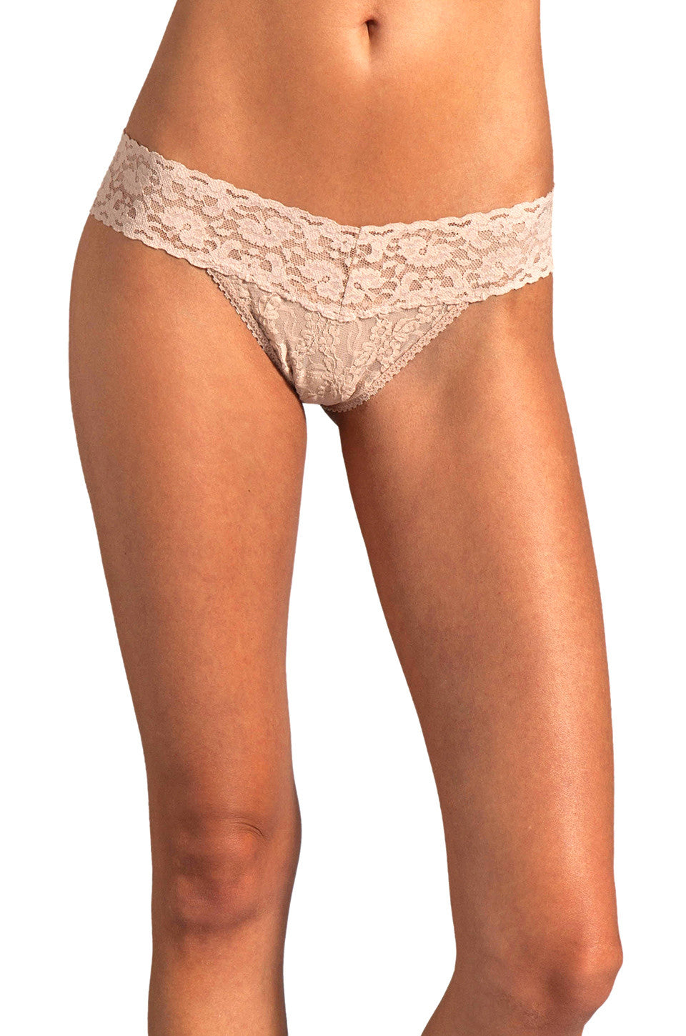 Only Hearts Low Rise Stretch Lace Must Have Thong - Knickers & Pearls Boutique - 6