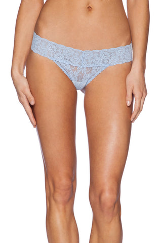 Only Hearts Low Rise Stretch Lace Must Have Thong - Knickers & Pearls Boutique - 1