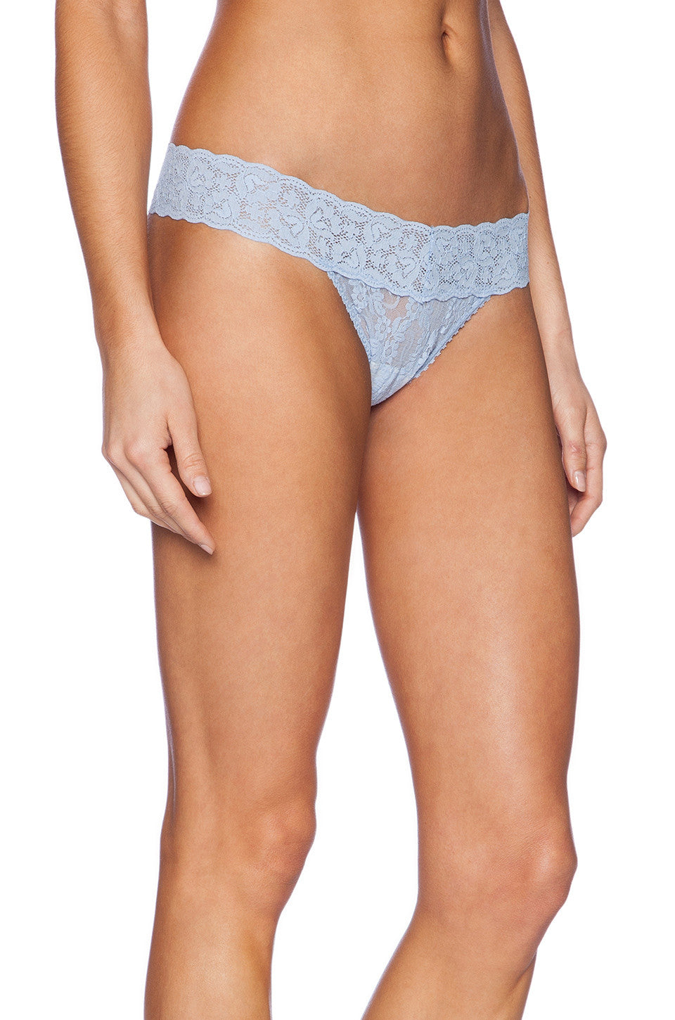 Only Hearts Low Rise Stretch Lace Must Have Thong - Knickers & Pearls Boutique - 7