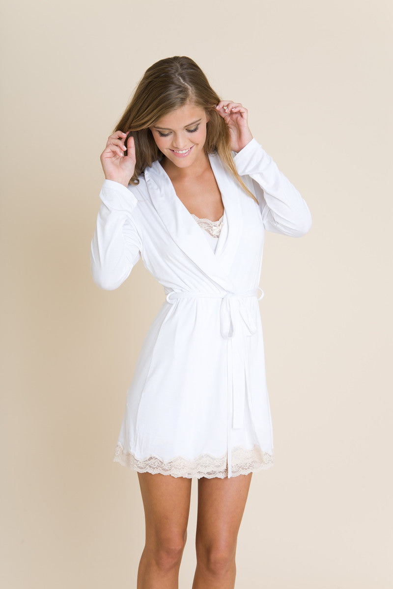 Eberjey Lady Godiva Robe - Knickers & Pearls Boutique - 4