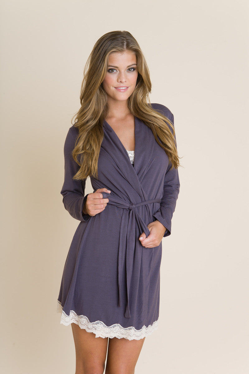 Eberjey Lady Godiva Robe - Knickers & Pearls Boutique - 6