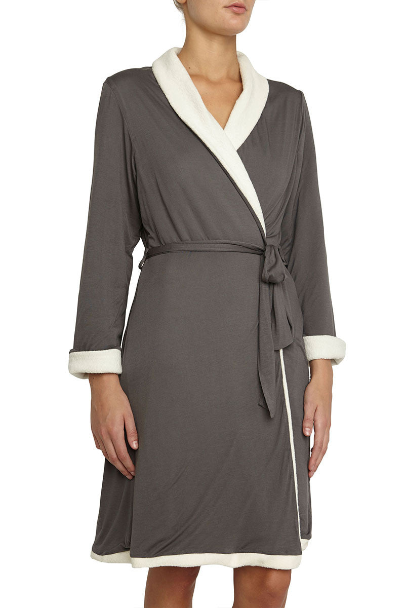 Eberjey Alpine Chic Classic Robe - Knickers & Pearls Boutique - 1