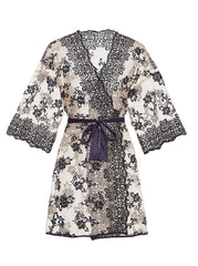 Cosabella Rosie Collection: Embroidered Robe