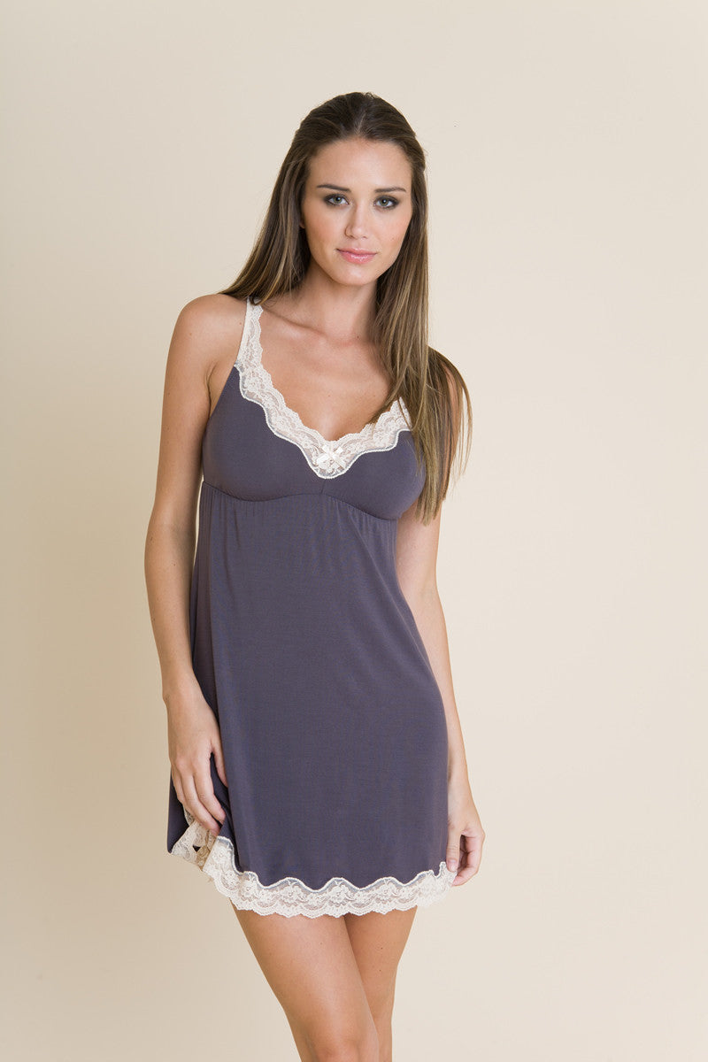 Eberjey Lady Godiva Chemise - Knickers & Pearls Boutique - 2