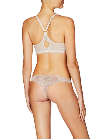 Stella McCartney Lingerie Stella Smooth & Lace Racerback Bra - Knickers & Pearls Boutique - 5