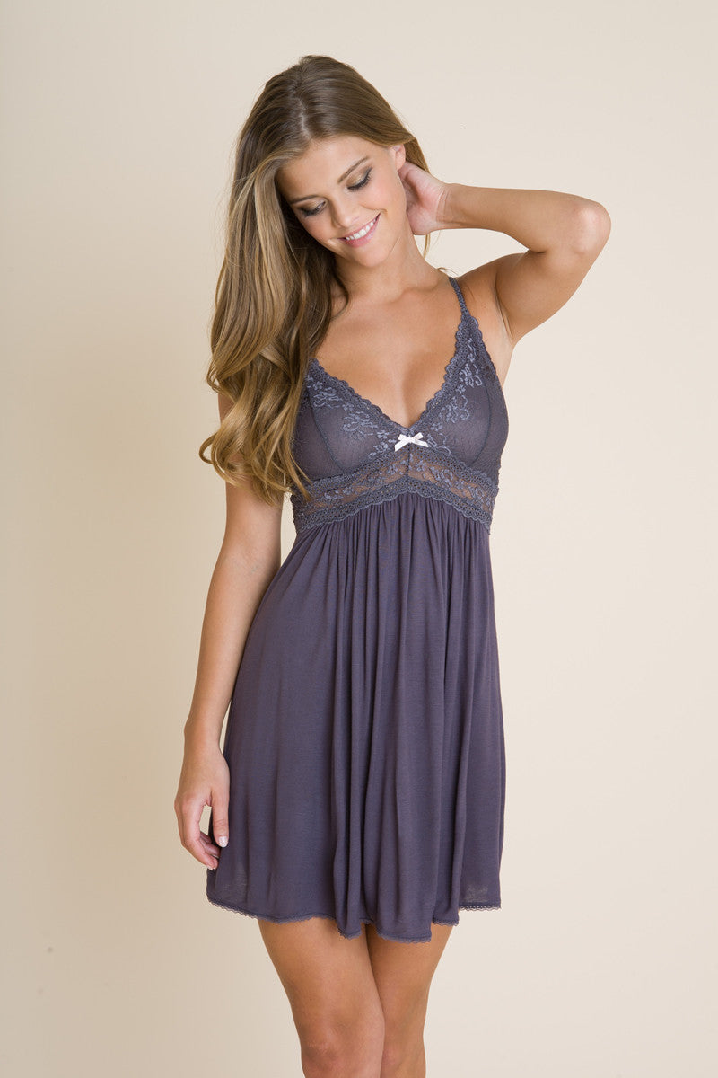 45655eeed Eberjey Colette Chemise - Knickers   Pearls Boutique - 2
