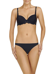 Stella McCartney Lingerie New Stella Smooth & Lace Bra-Contour Plunge - Knickers & Pearls Boutique - 7
