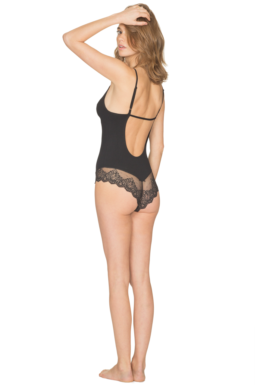 Only Hearts So Fine with Lace Low-Back Bodysuit - Knickers & Pearls Boutique - 4