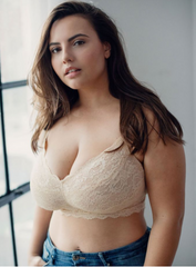 Cosabella Never Say Never Curvy Wireless Bralette