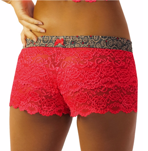 Foxers Hot Tamale Lace Boxers