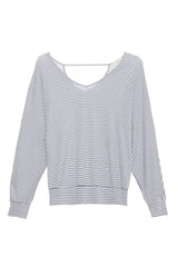 Eberjey Sadie Stripes Dolman Sleeve Top