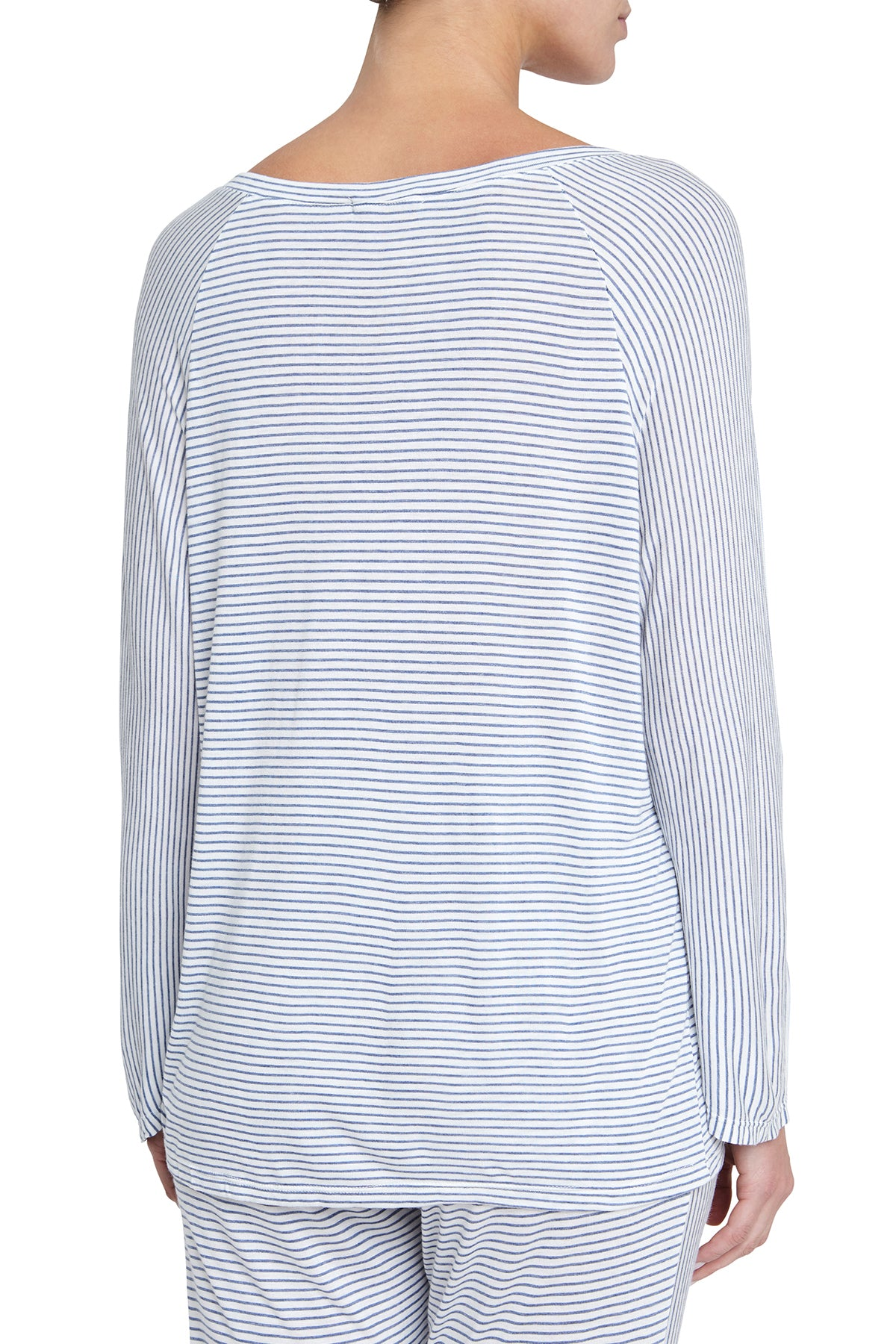Eberjey Georgie Not So Basic Long Sleeve Top