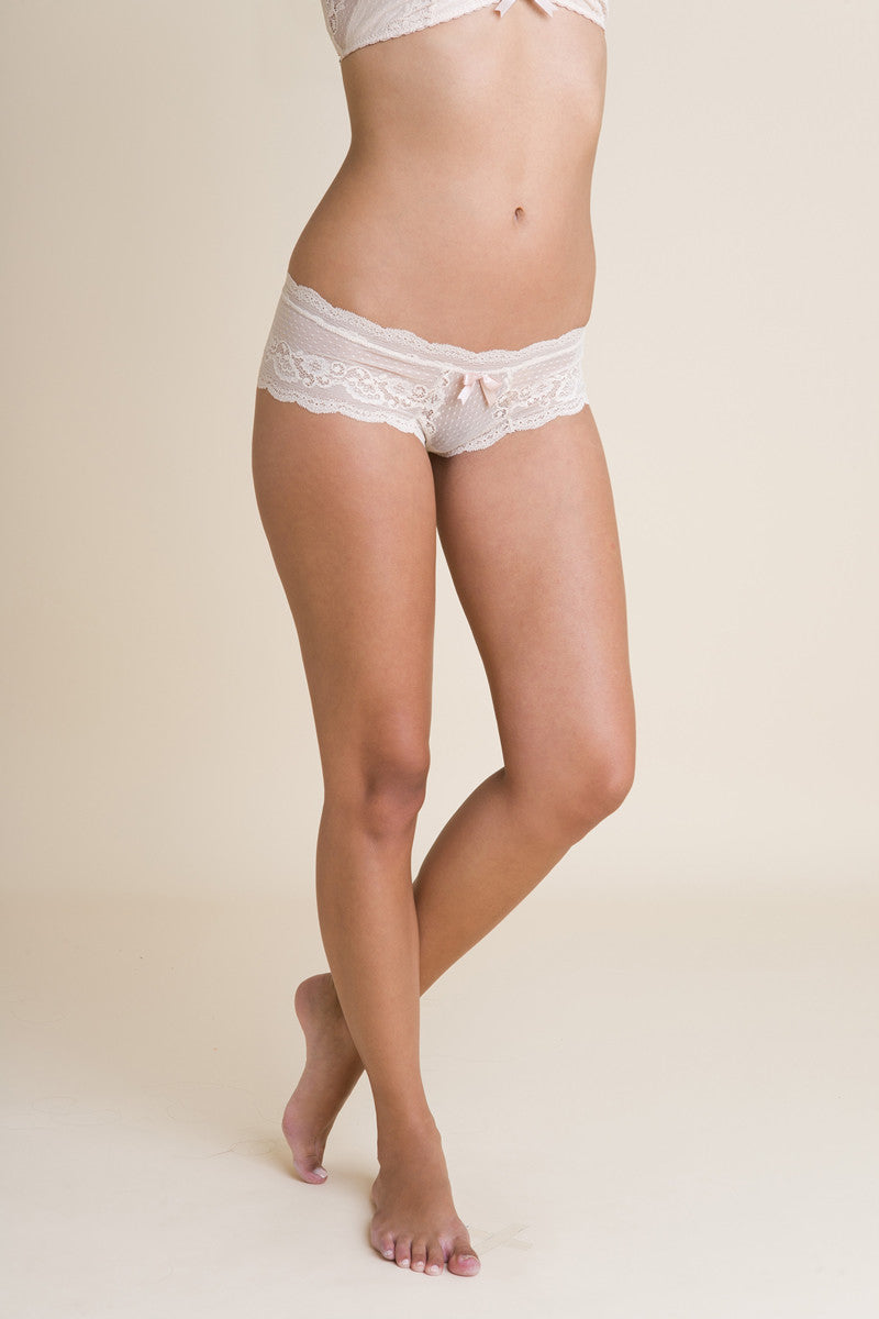 Eberjey Anouk Boythong - Knickers & Pearls Boutique - 16
