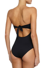 Eberjey So Solid Lulu Strapless Convertible One-Piece Swimsuit