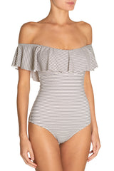 Eberjey Sea Stripe Margarita One-Piece Swimsuit