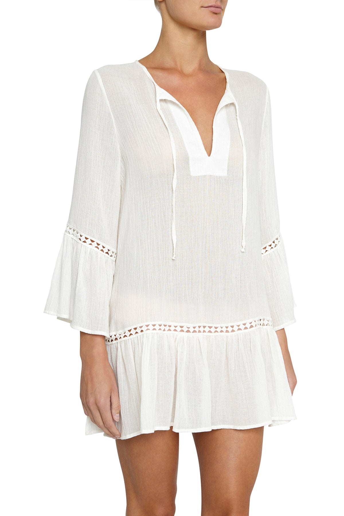 Eberjey Summer of Love Tessa Sheer Tunic Cover-Up