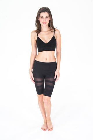 Jewel Toned Shapewear: Street Smart Bike Short - Knickers & Pearls Boutique - 2