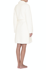 Eberjey Ivory Alpine Sherpa Robe at Knickers and Pearls Boutique