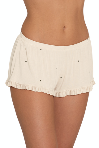 Eberjey Dots-The Ruffle Short