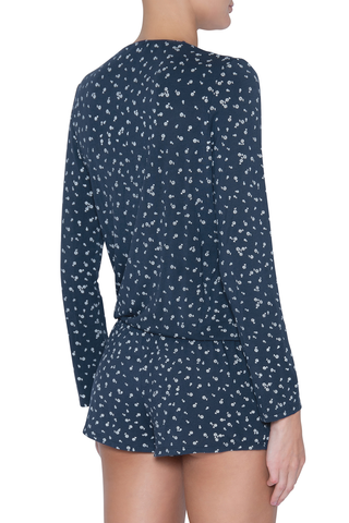 Eberjey Bloom Long Sleeve Teddy