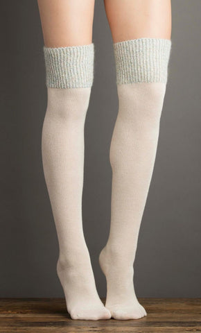 Lemón Cashmere Over-The-Knee Sock