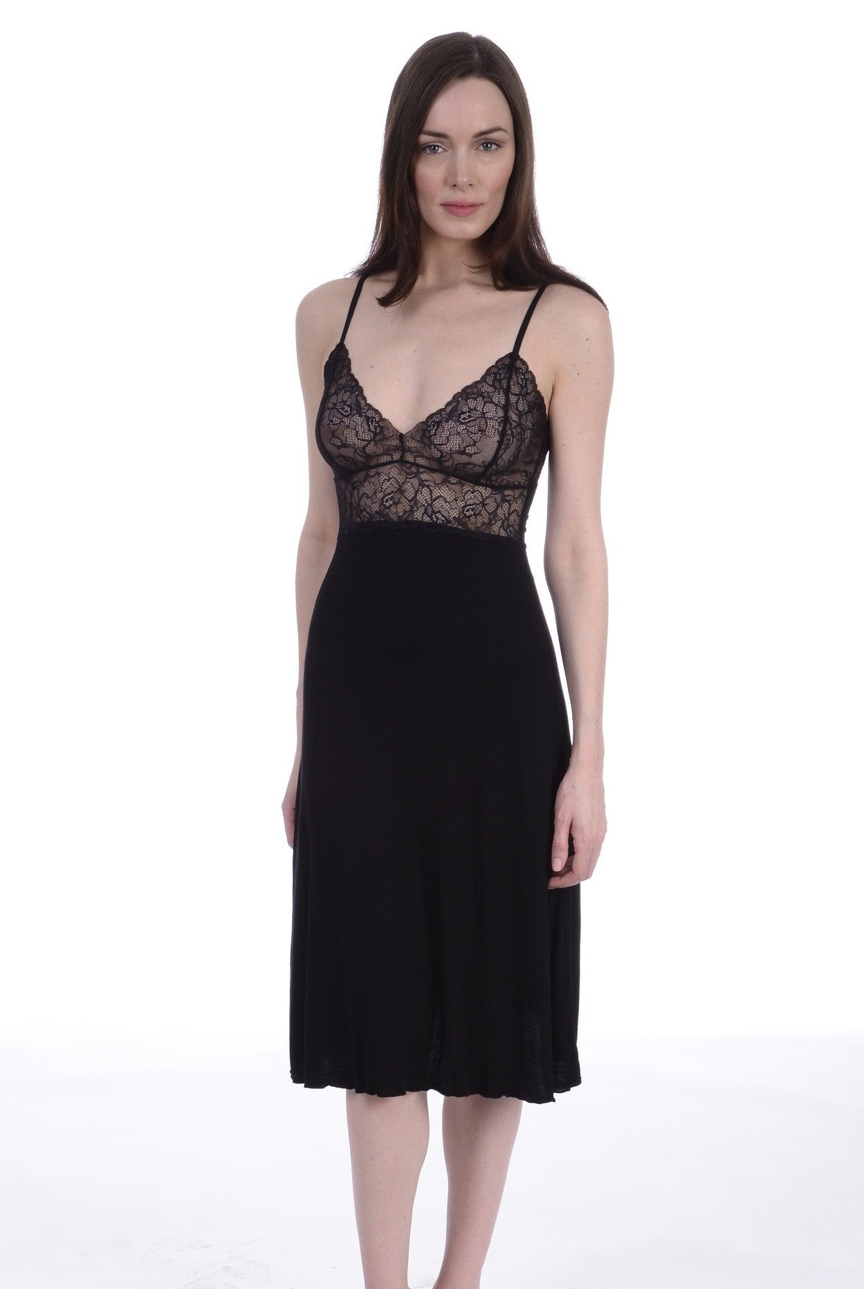 Samantha Chang Lace Cup Ballerina Gown - Knickers & Pearls Boutique