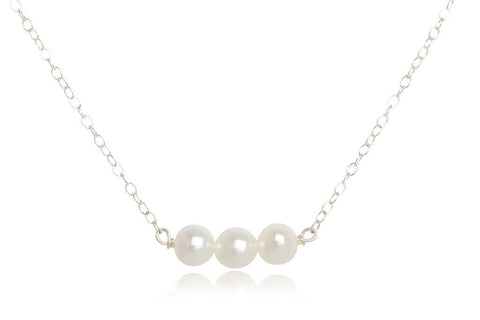 Bella Boutique Three Pearl Necklace - Knickers & Pearls Boutique - 1