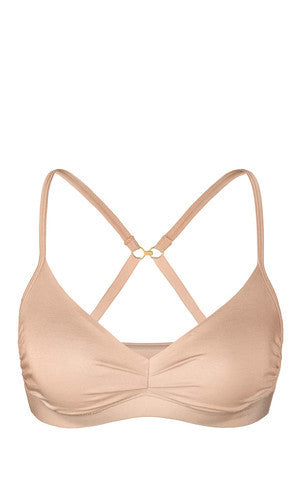 Naked Micromodal Luxury Bralette - Knickers & Pearls Boutique - 1
