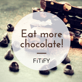 Eat more chocolate to be a better runner!