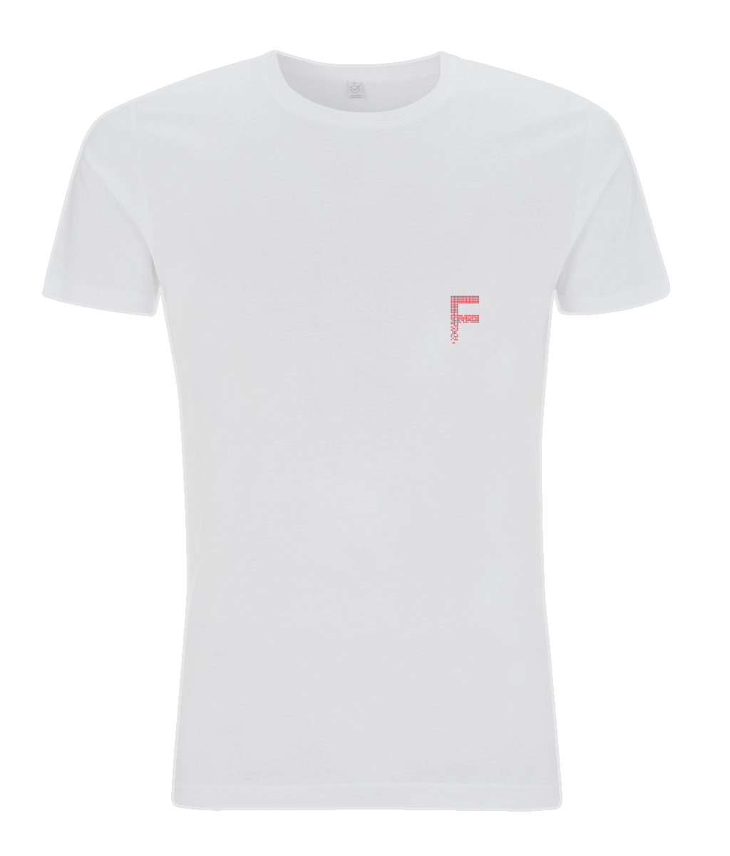 Fitify Classic White Fitted Tee