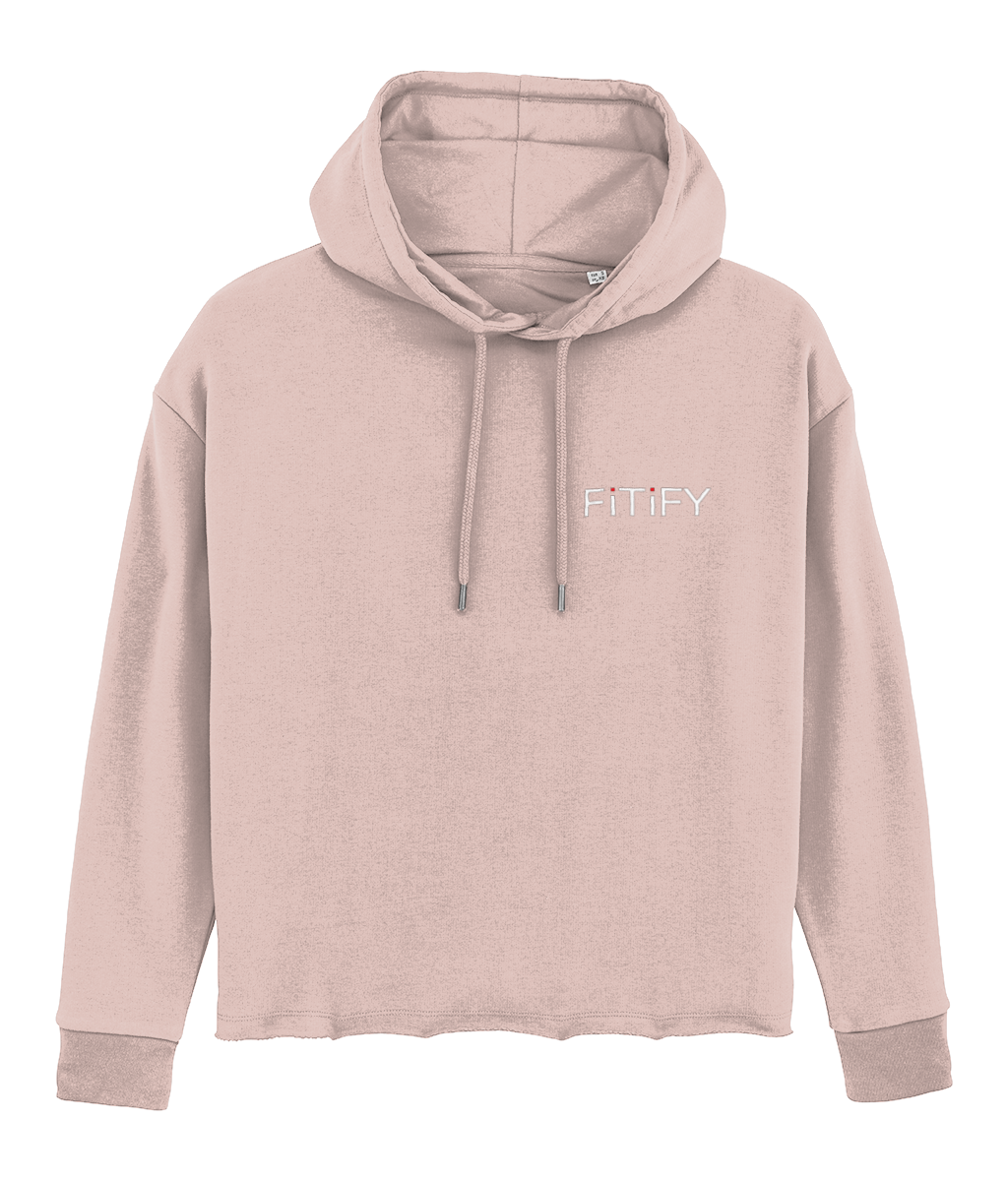 Fitify Heather Pink Hoodie
