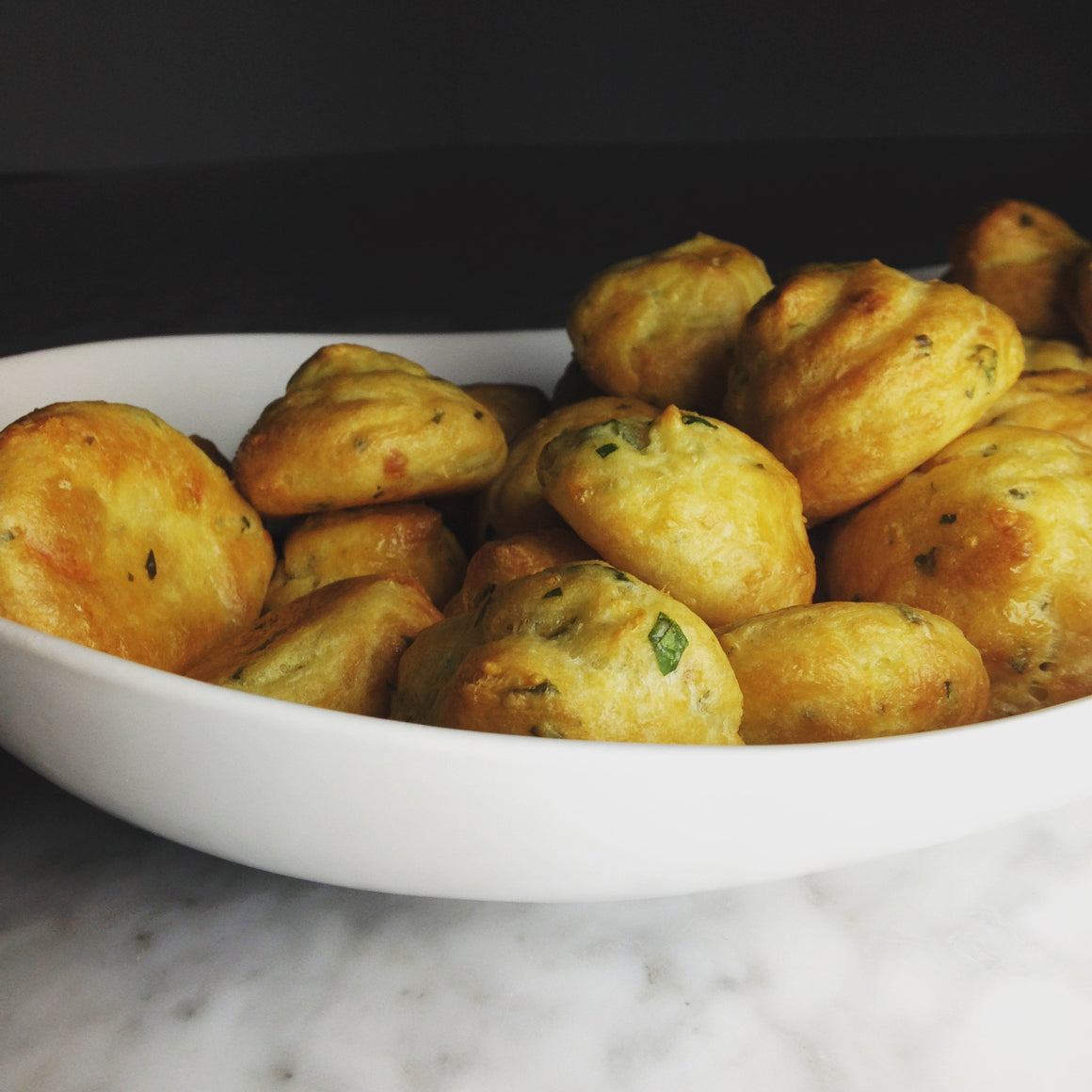 3 CHEESE GOUGERES