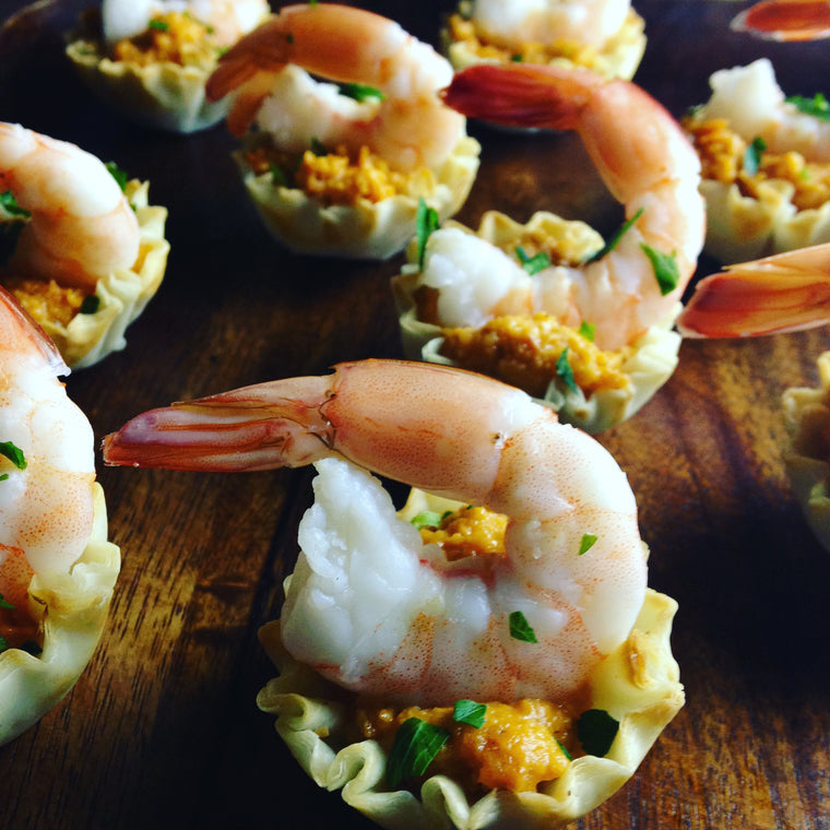 SHRIMP CUPS