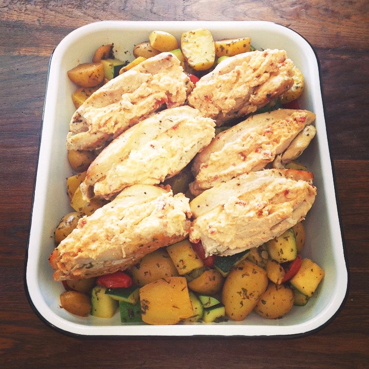 RICOTTA STUFFED CHICKEN BREAST