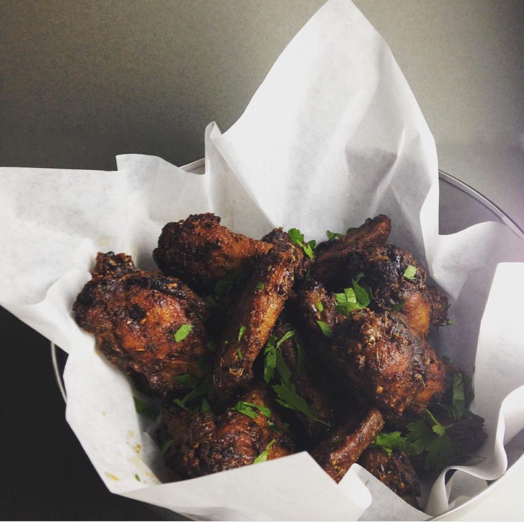 SMOKESTACK CHICKEN WINGS