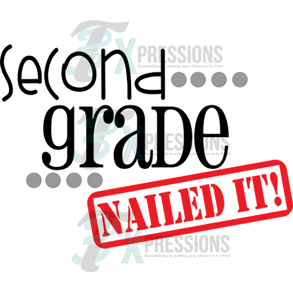 Second Grade Nailed It 3t Xpressions