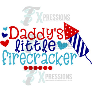 Daddy's Little Firecracker - 3T Xpressions