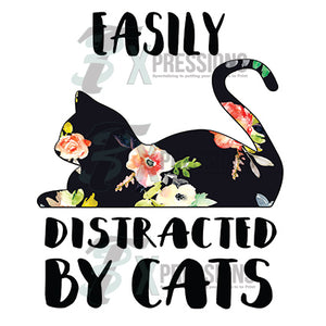 Easily distracted by cats - 3T Xpressions