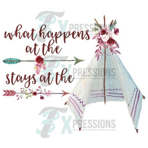 What happens at the tent - 3T Xpressions