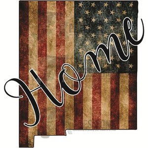Home New Mexico vintage flag - 3T Xpressions