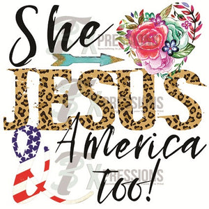 She loves Jesus and America too - 3T Xpressions