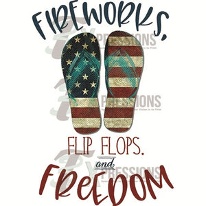 Fireworks Flipflops and Freedom - 3T Xpressions