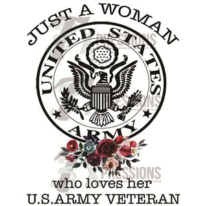 Just a woman that loves her Army Vet