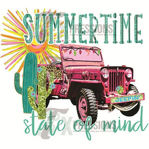 HTV Summer time state of mind Jeep