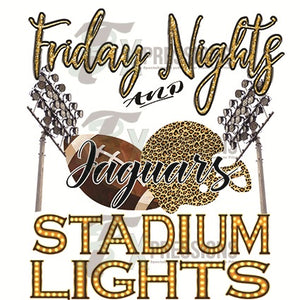 Personalized Friday Nights and Stadium Lights