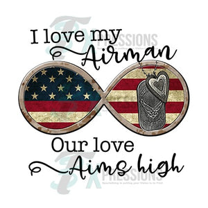 I Love my Airman,  Airforce