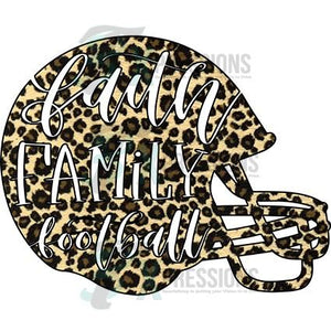 Leopard Faith Family Football