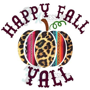 Happy Fall Yall pumpkin